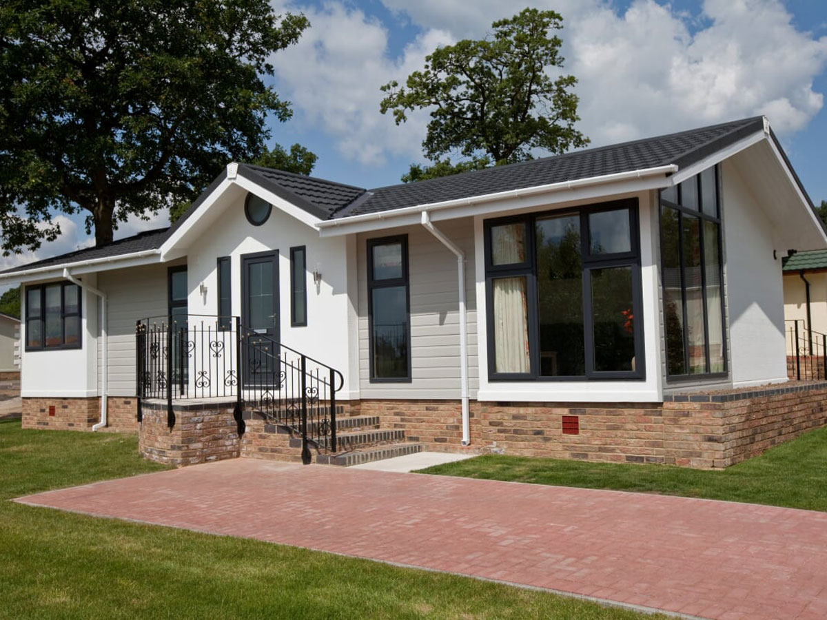 External of Kent Country Park Home
